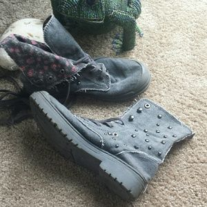 Roxy denim folding boot 7